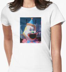 Clown head #3 Womens Fitted T-Shirt