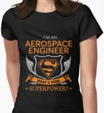 AEROSPACE ENGINEER Women's Fitted T-Shirt