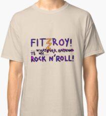 'Fitzroy Mock n' Roll' Classic T-Shirt