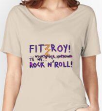 'Fitzroy Mock n' Roll' Women's Relaxed Fit T-Shirt