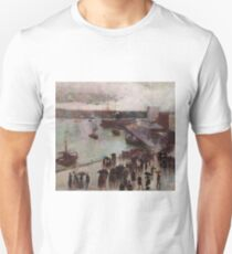 Departure of the Orient  Circular Quay  1888 Charles Conder Unisex T-Shirt