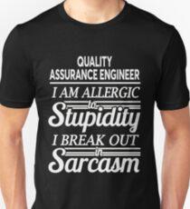 QUALITY ASSURANCE ENGINEER Unisex T-Shirt
