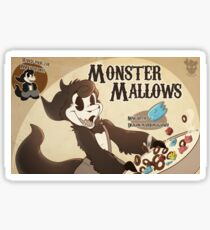Monster Mallows! Sticker