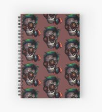 Mask Spiral Notebook