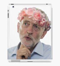 Jeremy Corbyn Flower Crown iPad Case/Skin