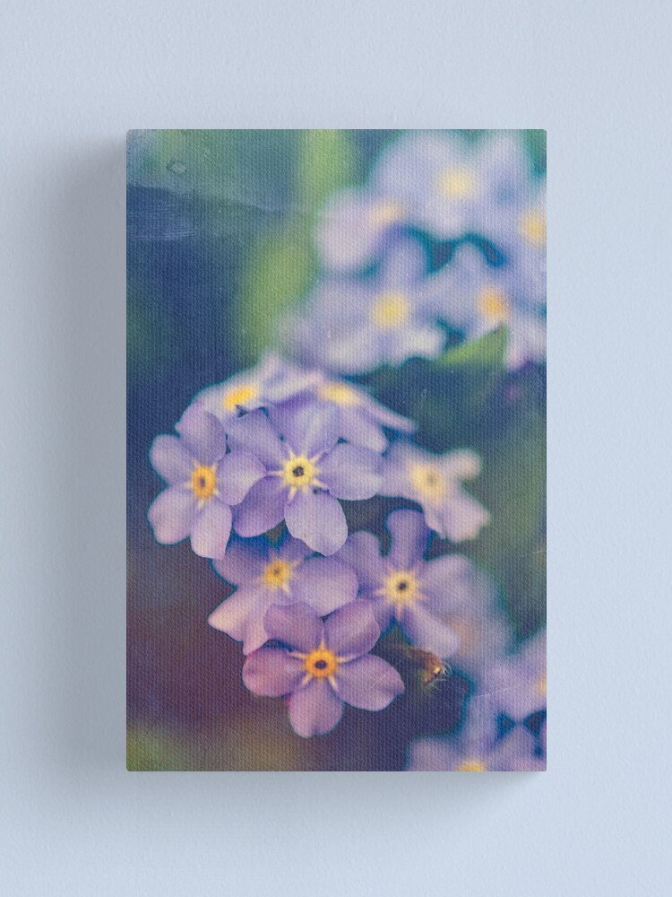 Alternate view of Forget Me Not Canvas Print