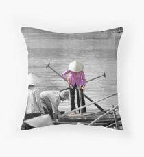 Mekong Delta Throw Pillow