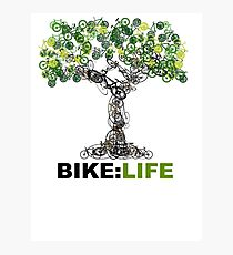 BIKE:LIFE tree Photographic Print
