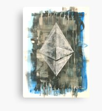 Ethereum Canvas Print