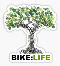 BIKE:LIFE tree Sticker
