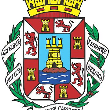Coat of Arms of Cartagena, Spain by Tonbbo