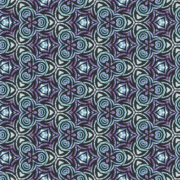 Kaleidoscope Pattern by rachfaceburrdog