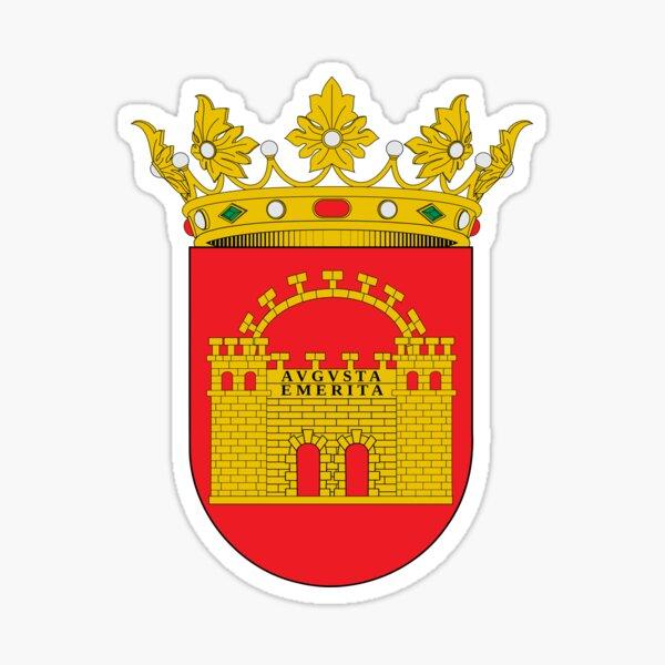 Escudo de Mérida, España Pegatina