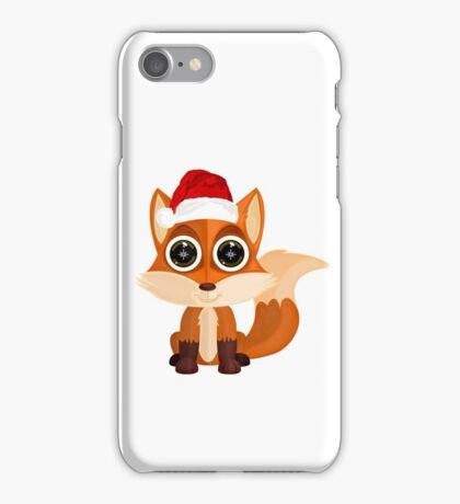 Christmas Fox iPhone Case/Skin