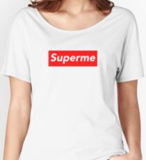 Superme Women's Relaxed Fit T-Shirt