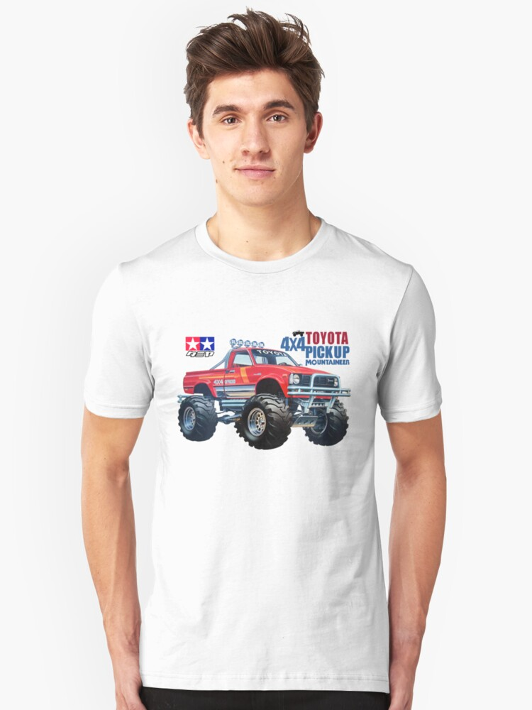 58111 Mountaineer Toyota 4x4 Pickup Unisex T-Shirt Front