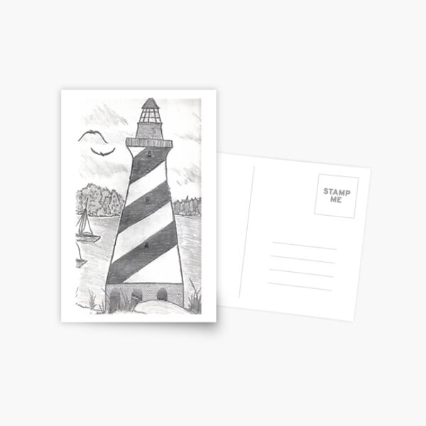 HATTERAS LIGHTHOUSE Postcard