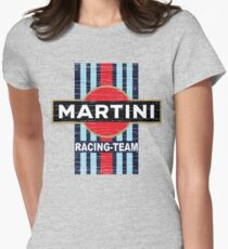 Vintage Martini Racing Women's Fitted T-Shirt