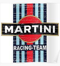 Vintage Martini Racing Poster