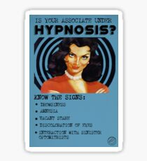 Propagande VFD: hypnose Sticker