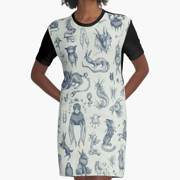 Beings and Creatures  Graphic T-Shirt Dress