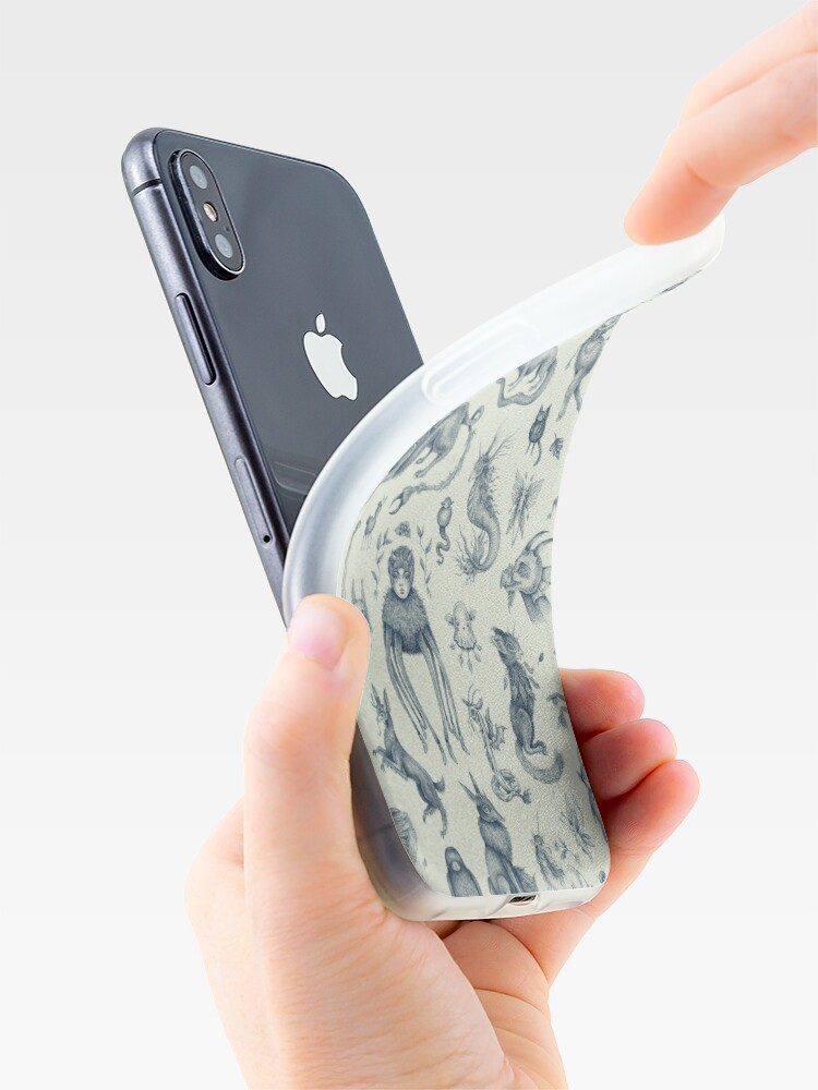 Alternate view of Beings and Creatures  iPhone Case & Cover