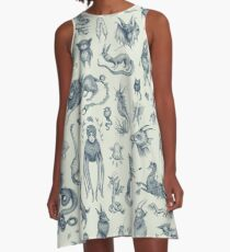 Beings and Creatures  A-Line Dress
