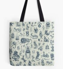Beings and Creatures  Tote Bag