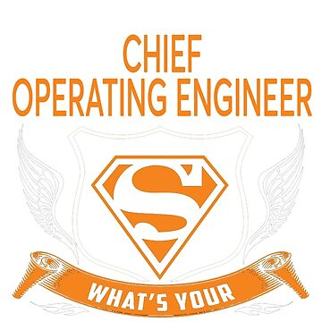 CHIEF OPERATING ENGINEER by Jordynthanhs