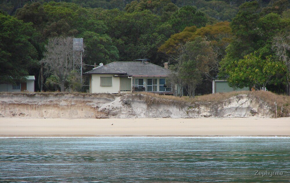 Old Beach House by Zephyrme
