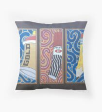 power to paint Throw Pillow