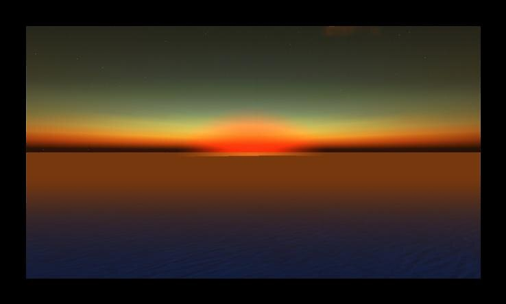 Second Life Sunset 2 by Nibs Underwood