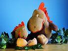 Dinosaurier - Mutter und Kind von Evita