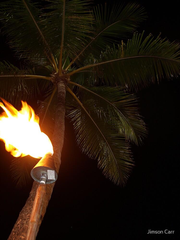 Waikiki Torchlight by Jimson Carr