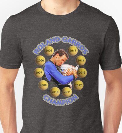 10 times RG champion T-Shirt