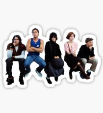 The Breakfast Club - Brat Pack Sticker
