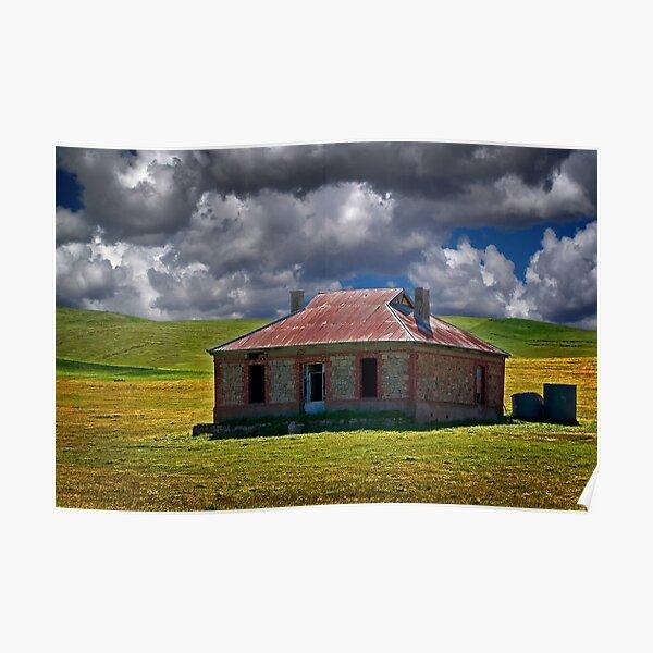 1062 Burra Ruins - Burra SA Poster