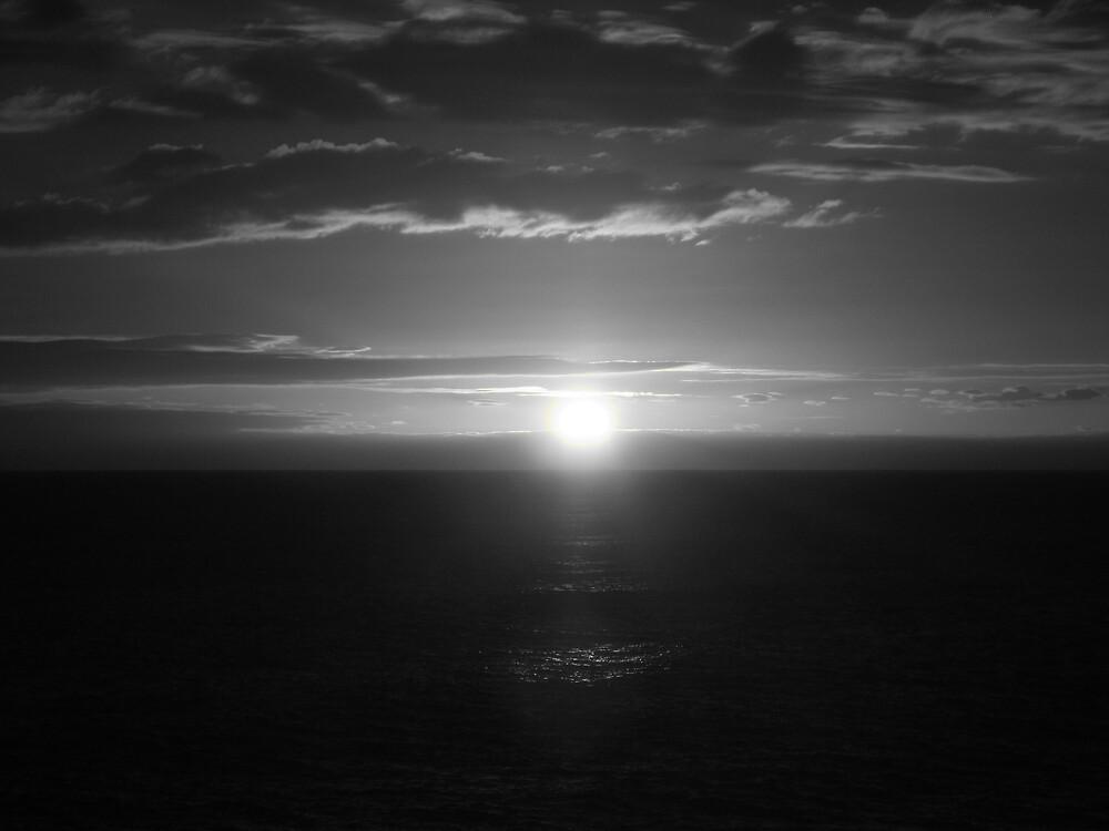 Sunset B/W by Alice Chai