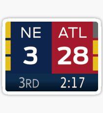 Super Bowl LI Comeback  Sticker