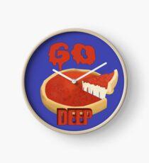 Go Deep Dish Clock