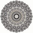 Mandala Mehndi Style G384b by MEDUSA GraphicART