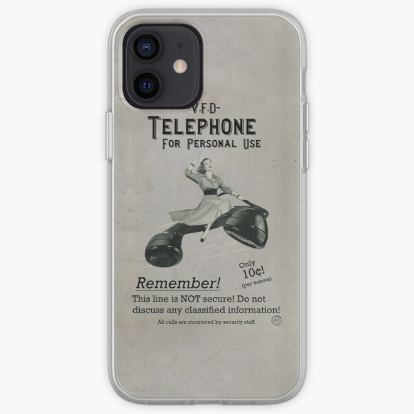 V.F.D. Propaganda: Telephone for Personal Use iPhone Soft Case