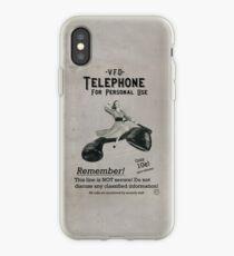 VFD Propaganda: Telefon für den persönlichen Gebrauch iPhone-Hülle & Cover