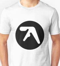 Aphex Twin Logo Black Unisex T-Shirt