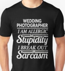 WEDDING PHOTOGRAPHER T-Shirt
