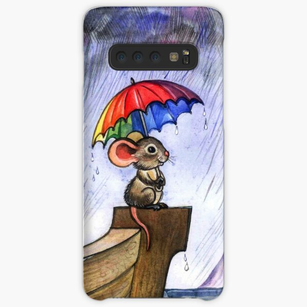 Little rainbow mouse Samsung Galaxy Snap Case