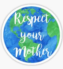 Respektiere deine Mutter Sticker