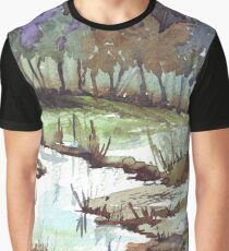 Stream of Life Graphic T-Shirt