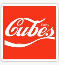 Enjoy Cubes Sticker