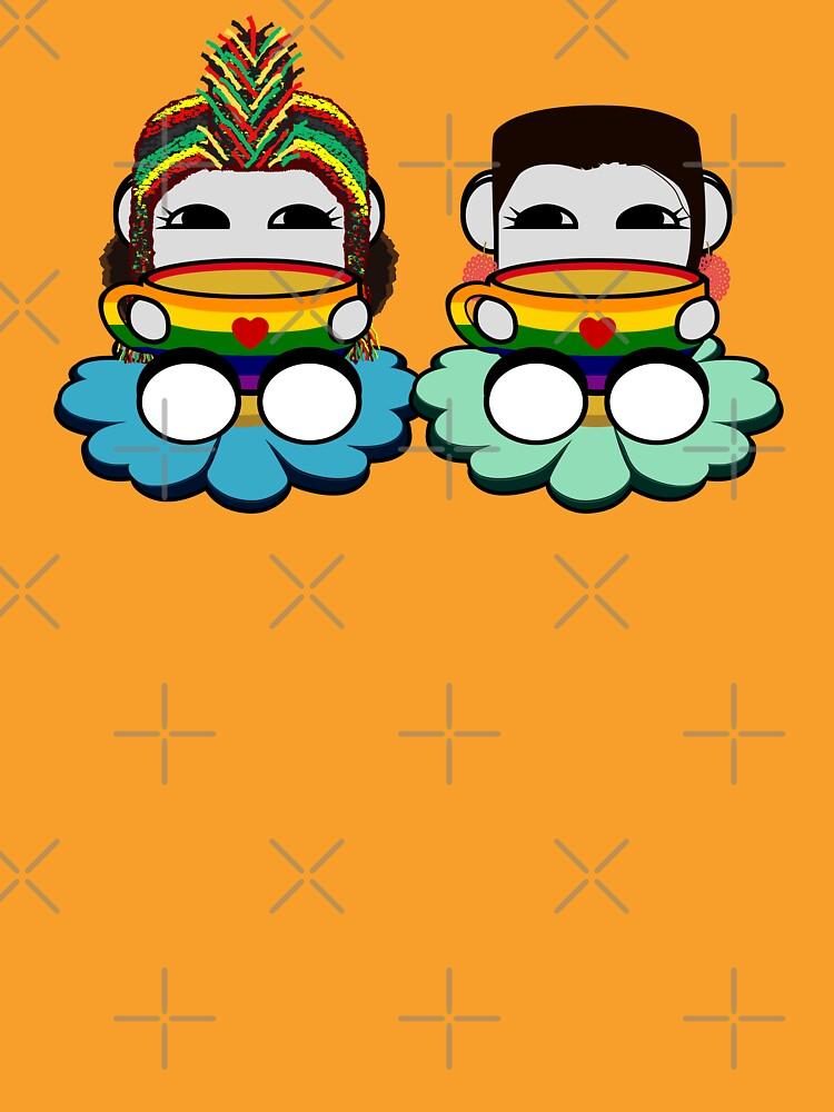 STPC: Naka Do & Oyo Yo (Tea & Pride) by carbonfibreme